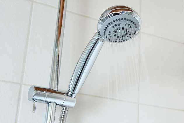 シャワーヘッドの交換で節水に成功しました